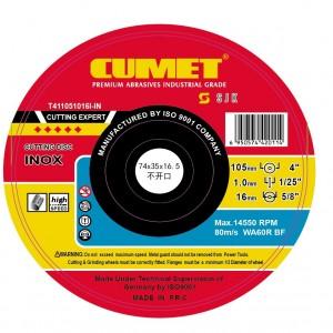 105 x 1.0 x 16 Inox Cutting Wheel