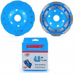 DIAMOND GRINDING CUP WHEEL (DOUBLE)
