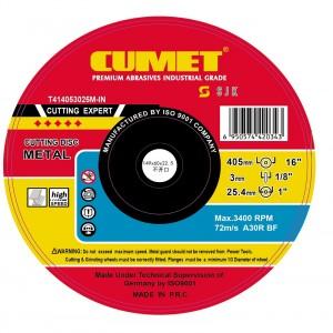 405  x 3 x 25.4 Metal Cutting Wheel