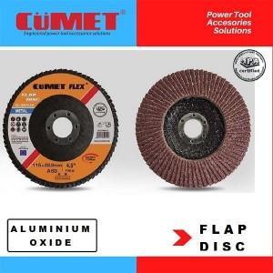 CumetFlex - Aluminium Oxide- TYPE 27 Flat