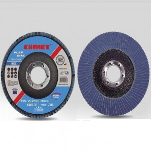 FLAP DISC FOR BOTH METAL AND STAINESS STEEL